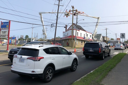 Motorists may experience delays on Prince Street between Victoria Road and Disco Street in Sydney over the next 8-10 days while Nova Scotia Power crews work on utility poles. Traffic will be reduced to one lane at times and detours will be place, according to a news release issued by the Cape Breton Regional Municipality on Tuesday. Businesses along the route will be accessible. Greg McNeil • Cape Breton Post