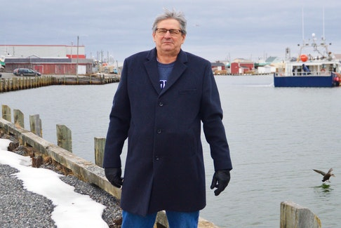 Dave MacKeigan of the community development group Bay It Forward says the Glace Bay waterfront has vast potential for development and envisions that the harbour area will someday be a magnet for visitors and locals alike. DAVID JALA/CAPE BRETON POST