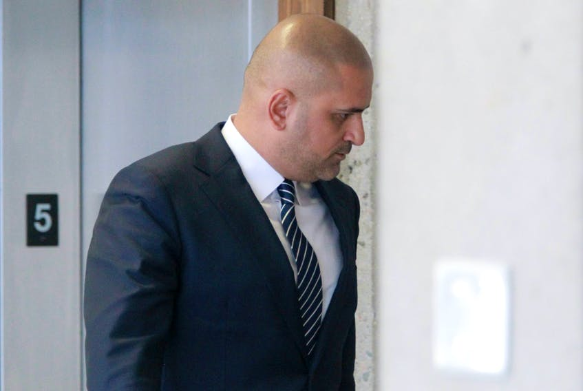 Former cab driver Bassam Al-Rawi is seen during a break in his trial at Nova Scotia Supreme Court Thursday February 20, 2020.  Today was the first day of his sexual assault trial for an alleged incident in December 2012.