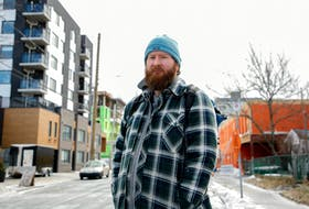 FOR MUNRO STORY: Eric Jonsson is the program coordinator with Navigator Street Outreach, their program has received more money from the city and is using it to find housing for people on the street. He is seen in Halifax March 2, 2021. SEE STORY FOR MORE DETAILS   TIM KROCHAK PHOTO