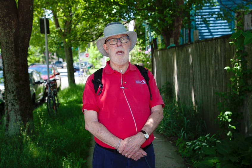 John Dennis, shown outside Northwood Terrace in Halifax, says Nova Scotia doesn't have proper mandatory protocols in nursing homes for monitoring and administering insulin for diabetic residents. His wife, who died from strokes on June 11, fell many times because her glucose levels were too low, he said. TIM KROCHAK/ The Chronicle Herald