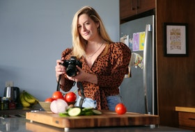Jess Emin is a photographer, food stylist, recipe developer and writer based in downtown Halifax. She's built up a following base of over 10,000 followers on Instagram, taken on big brand deals and next year, she'll even host a TV cooking show. Emin, is seen in her Halifax home on Wednesday, Dec. 9, 2020.