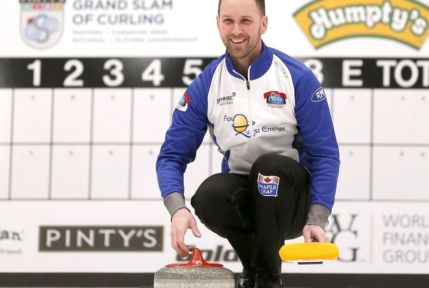 Brad Gushue hopes to make three straight curting titles in Halifax this weekend, with a win at the Stu Sells 1824 Halifax Classic. Last weekend, team Gushue won the Dave Jones Stanhope Simpson Insurance Cashspiel in Halifax., their first even since winning the Tim Hortons Brier last spring. – Postmedia photo