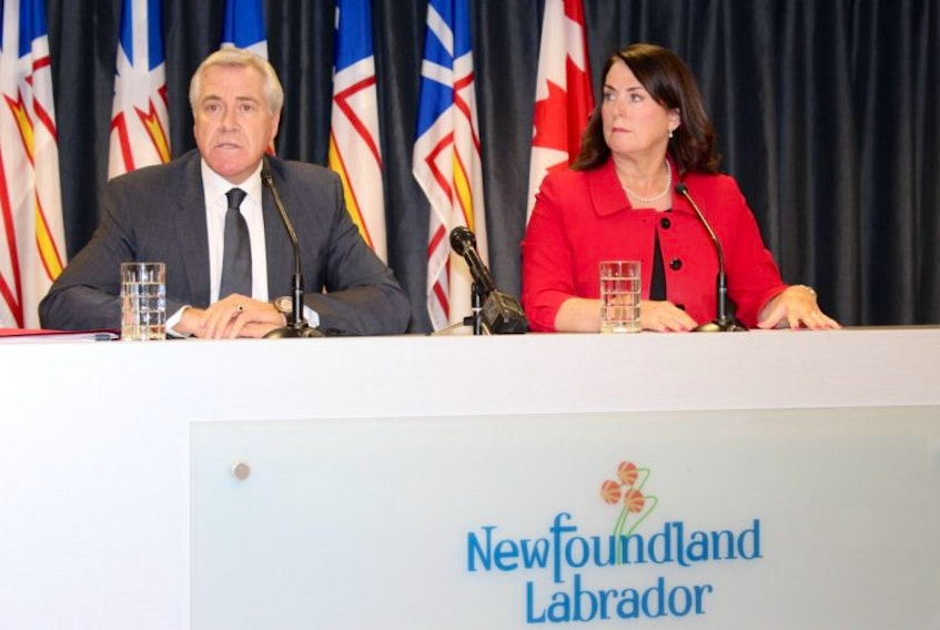 Premier Dwight Ball and Natural Resources Minister Siobhan Coady said Friday the costs associated today with the Muskrat Falls project were expected early in construction by some of the people involved with the project.