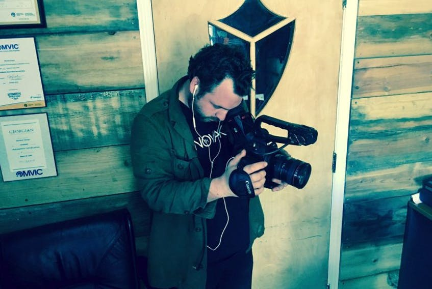 Filmmaker Anthony Tooton, a native of St. John's, will travel to France at the end of March with the Maples for Vimy Project. He's creating a documentary about the project, which will see about 60 Canadian youth planting maples trees at Vimy Ridge in honour of the 100th anniversary of the battle.