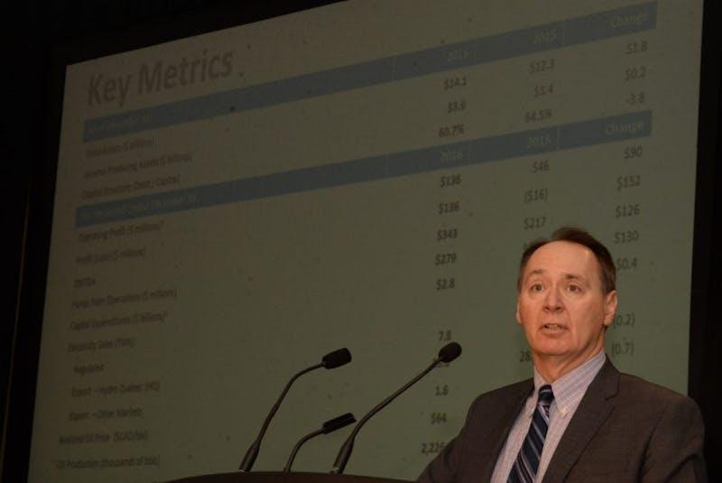 Nalcor Energy vice-president of finance and CFO Derrick Sturge. - Joe Gibbons/SaltWire Network