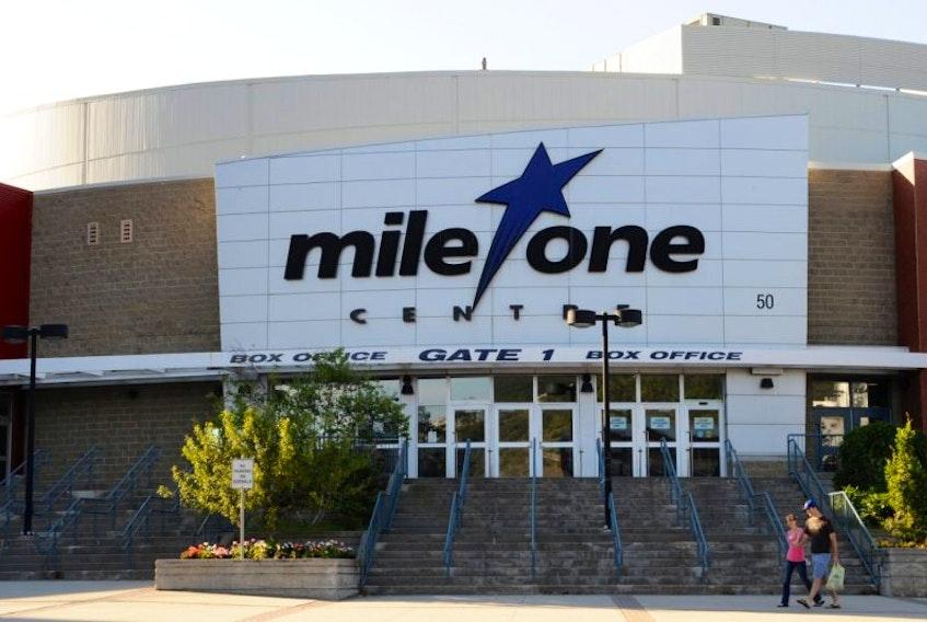Mile One Centre in St. John's.