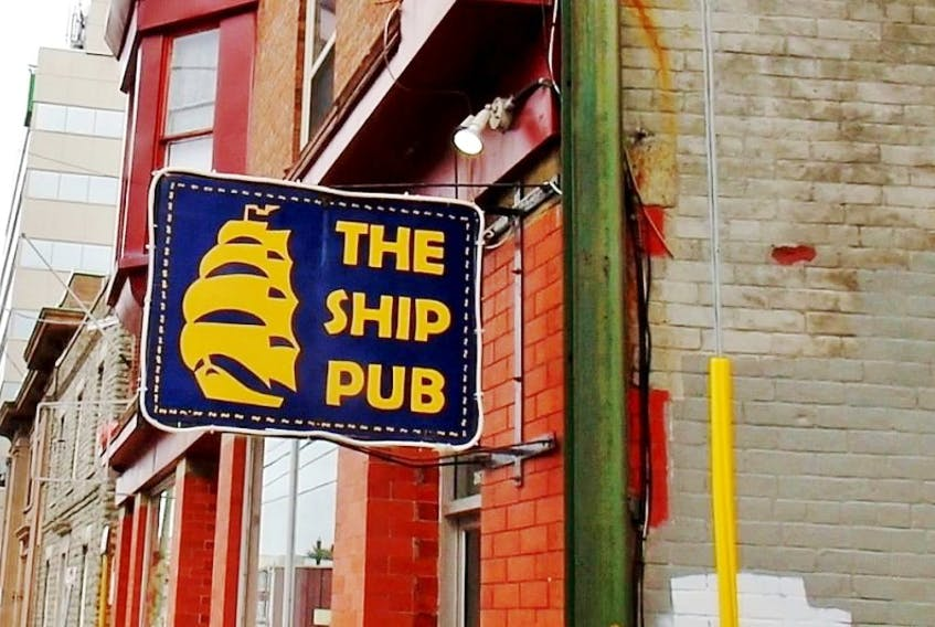 The Ship Pub sign