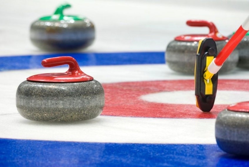 Middleton Curling Club is hosting the Provincial Masters.