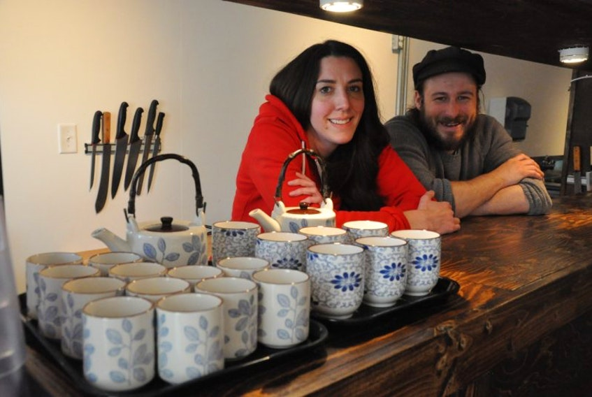 Jasmine Kean and Adam Gallop, owners of Bad Bones Ramen, feel St. John's was past due for a restaurant serving up the specialty Asian cuisine that's become popular around the world since the 1990s. The cozy Water Street restaurant is expected to open for business next Monday.