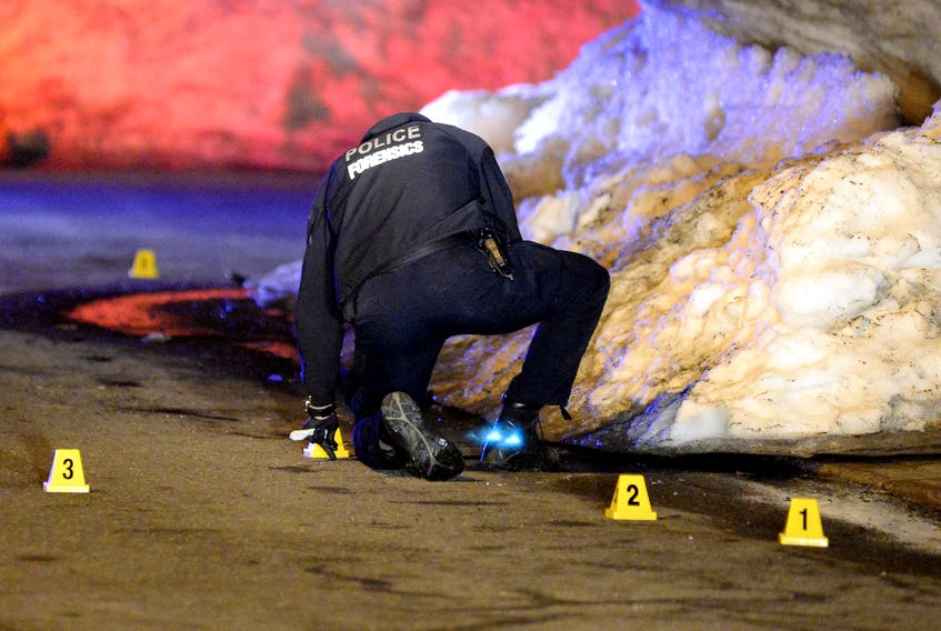One man is dead following a stabbing in St. John's late Thursday night. Keith Gosse/The Telegram