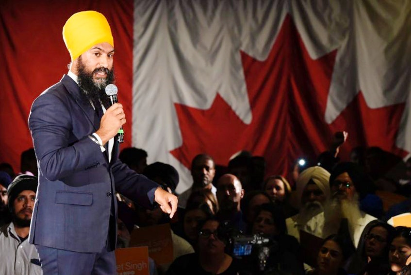 Ontario deputy NDP leader Jagmeet Singh, who spent part of his childhood in St. John's, launches his bid for the federal NDP leadership in Brampton, Ont.