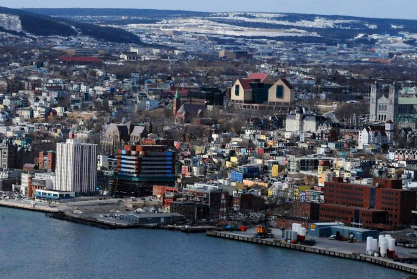 A view of St. John's from Signal Hill.