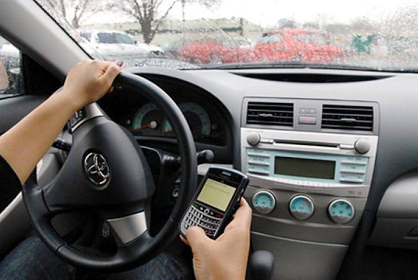 Texting while driving fines to increase.