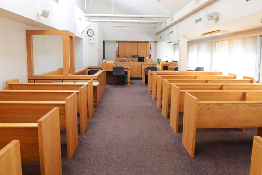 Inside a Provincial Court room in Charlottetown. - File