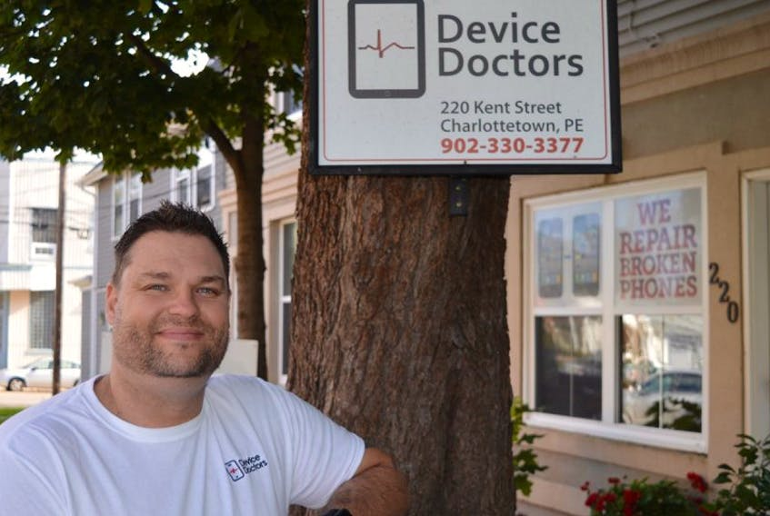 Cory Rusk, owner of Device Doctors in Charlottetown, says demand has been so great since opening his doors in April that he's had to hire more staff and open a second location in Summerside.