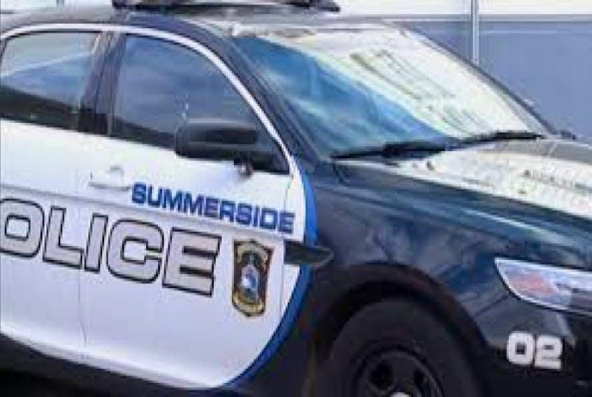 Summerside police patrol car.