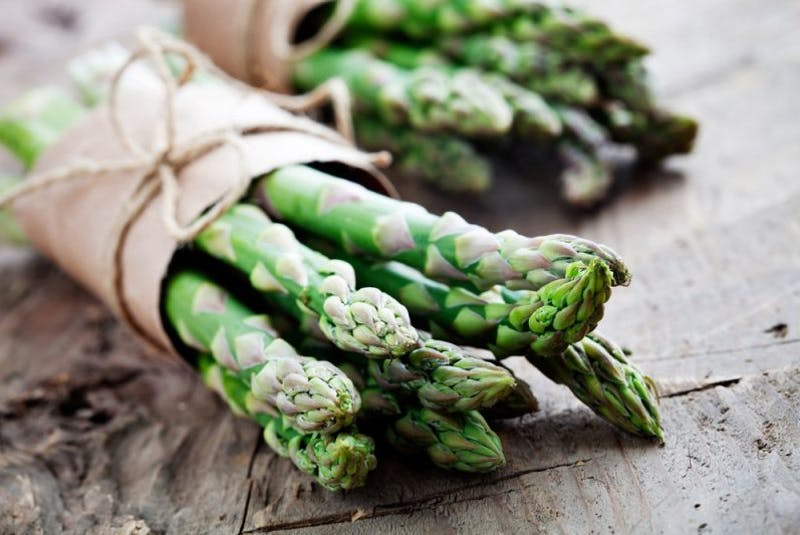 A bunch of fresh asparagus - Contributed