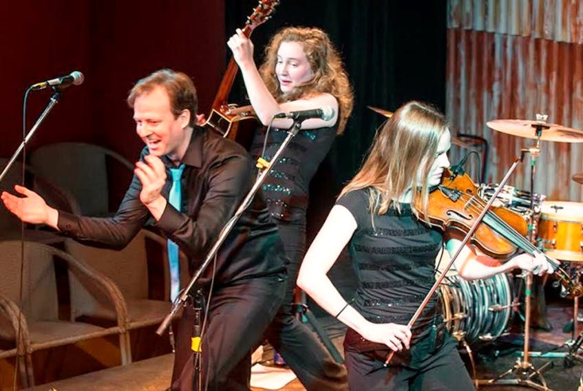 The homespun P.E.I. siblings, Stephanie, Danielle and Johnny Ross, combine original and traditional material with a twist. As a result, audience members have returned year after year to hear the masterful blend of Acadian and Scottish sounds.