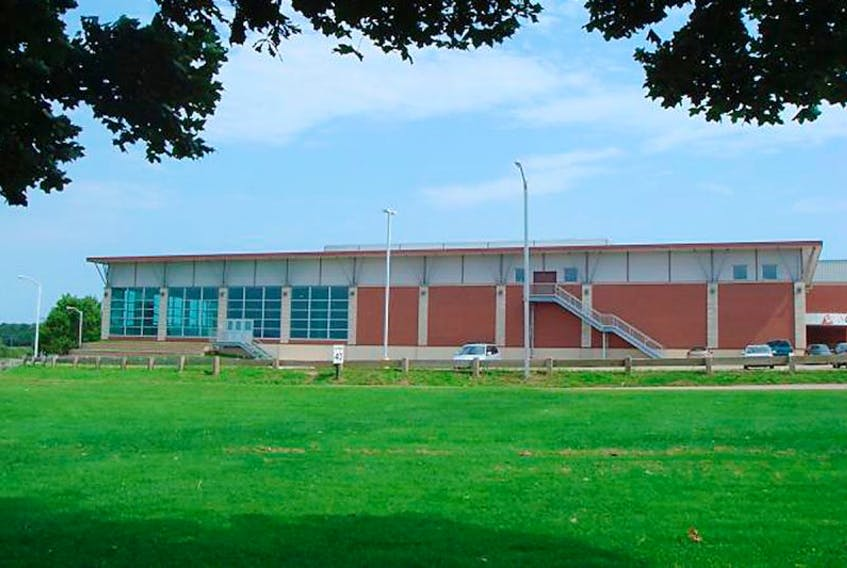 The Bell Aliant Centre on the campus of UPEI.