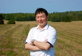 Robert Chang of Flourish Development Group is excited about developing 68 acres in Stratford to include 154 lots with both single-family dwellings and semi-detached units.