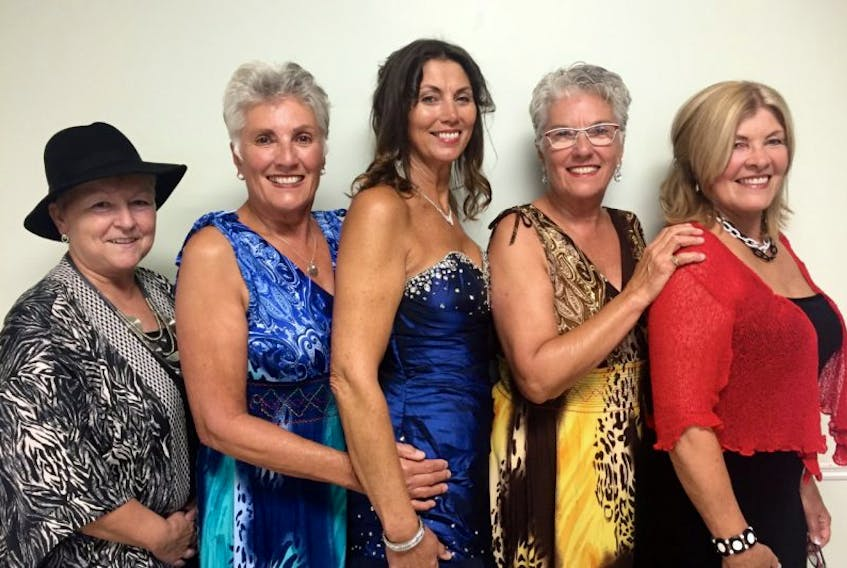 A Tribute to Lady Singers of Our Century will be staged Wednesday evening during the Ceilidh in the City at the Jack Blanchard Centre. From left are Colleen MacPhee, Joan Andrews, Jolee Patkai, Judy Reeves and Keila Glydon.