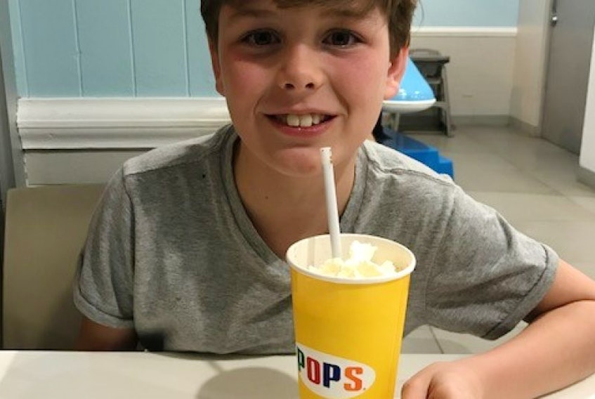 Cole Doyle of Charlottetown made headlines across the country after Air Canada bumped the 10-year-old from a March break flight that was booked in August for his family of four.