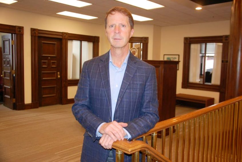City of Charlottetown CAO Peter Kelly at City Hall.