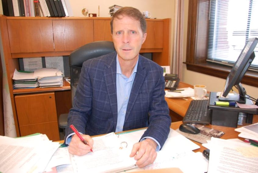Charlottetown chief administrative office Peter Kelly.