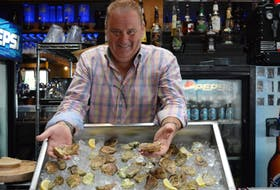 Liam Dolan, chairman of the P.E.I. International Shellfish Festival, says this year's event will feature at least 22 varieties of oysters and an attempt to create the world's longest continuous lobster roll. The event runs Thursday to Sunday at the Charlottetown Event Grounds.
