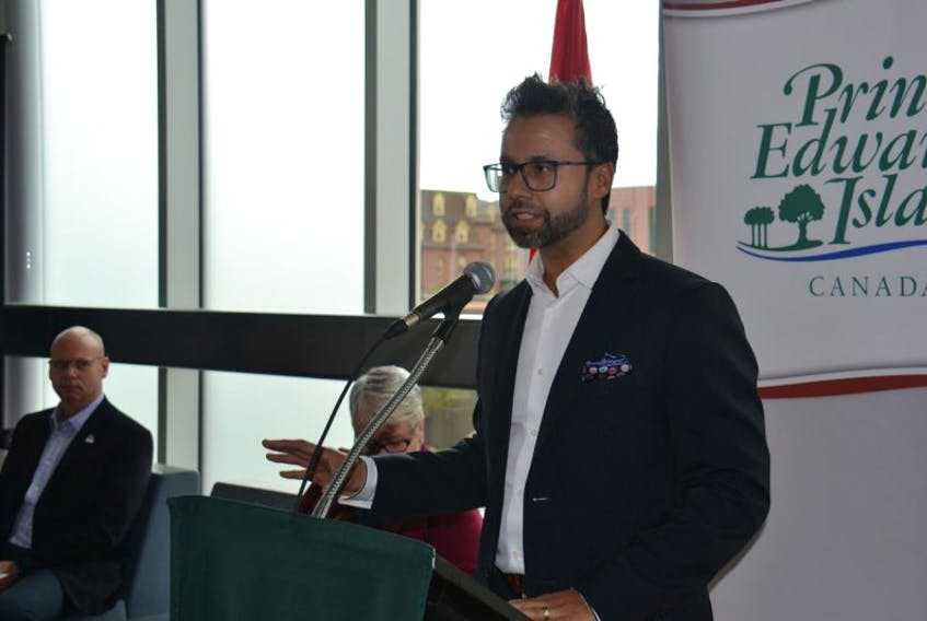 Nishaant Sangaavi, CEO of energyX Solutions, explains how the MyEnergyXpert platform will help Island residents and businesses measure their energy use and find ways to make changes to lower their carbon footprint.