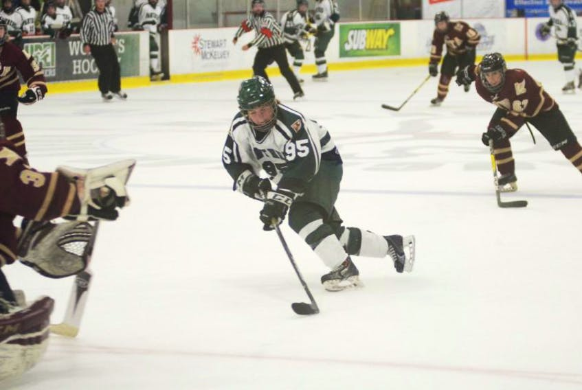 Women's hockey Panthers in action on Saturday.
