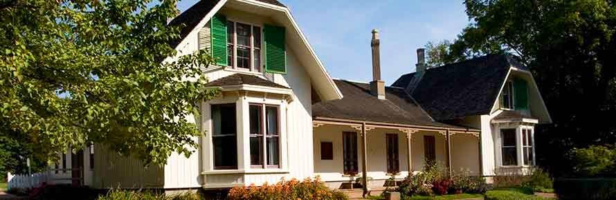 Ardgowan National Historic Site in Charlottetown.