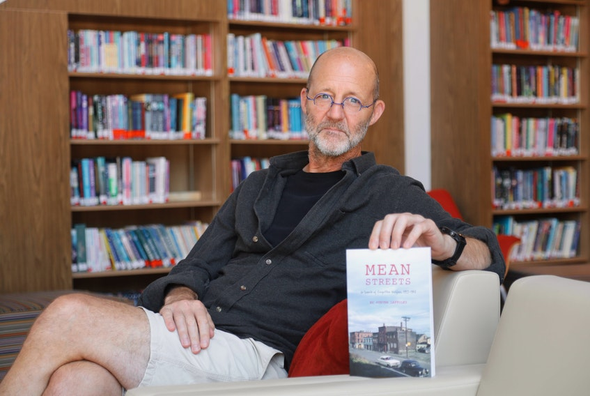 """Steven Laffoley, author of Mean Streets: In Search of Forgotten Halifax, 1953-1967, set out """"in search of a particular past."""" ERIC WYNNE/Chronicle Herald"""