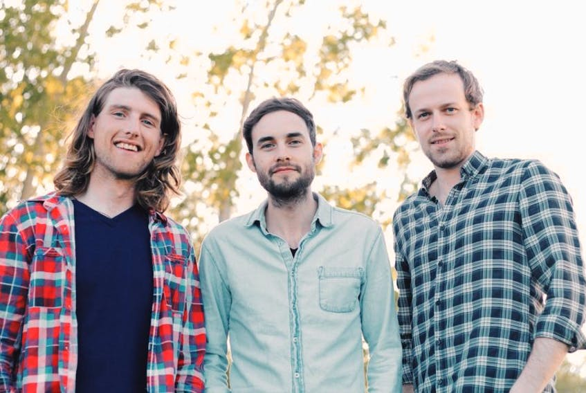 The East Pointers have made their first foray into the studio as a trio and emerged with a record that should be a serious contender for roots/traditional recording of the year when next year's East Coast Music Awards roll around. Group members include, from left, Koady Chaisson, Tim Chaisson and Jake Charron.