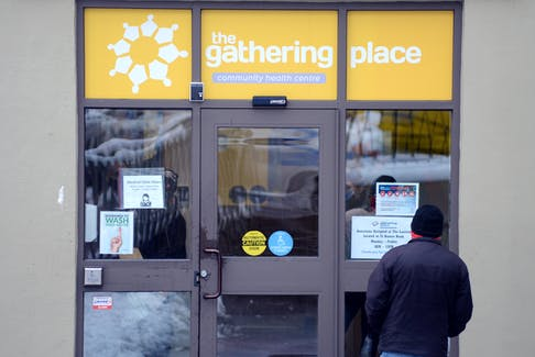 The COVID-19 pandemic prompted an emergency temporary shelter of 30 cots put in place earlier this year at The Gathering Place, but plans are now underway to convert the Mercy Convent into a much larger shelter for the city's most vulnerable residents. -KEITH GOSSE/THE TELEGRAM
