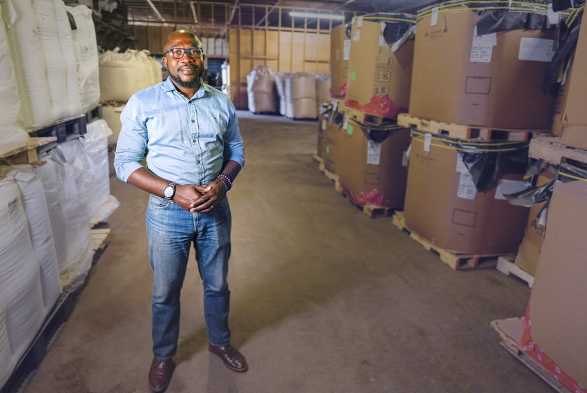 Ernest Korankye is founder, president and CEO of Asante Logistics Group in Truro.