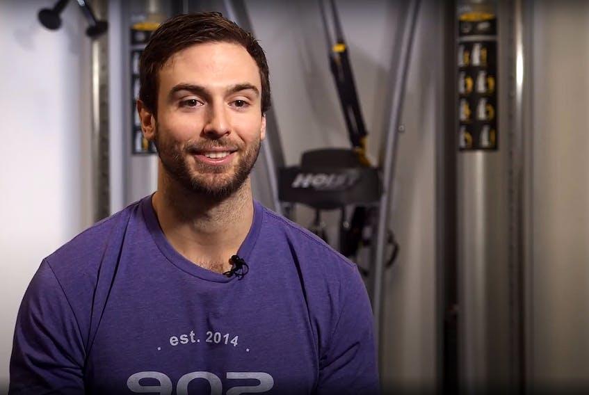 Joel Holland is owner-operator of the 902 Athletics Ltd. gym in Bridgewater.