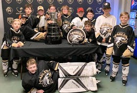 The Northeast Eagles peewee 'C' all-stars from the Northeast Minor Hockey Association are in the running for this year's Chevrolet Good Deeds Cup. The Eagles are one of 10 regional finalists. Voting will be conducted until Feb. 9 to determine the winner. To vote, visit www.ChevroletGoodDeedsCup.ca — Submitted