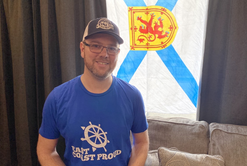Terry Holdershaw, founder of online clothing company East Coast Proud, has just released a new line of Nova Scotia Strong apparel on the company's website, with 100 per cent of profits going directly to families affected by the tragic mass shooting in Nova Scotia. A portion of the proceeds from East Coast Proud's Stay The Blazes Home apparel will be donated to this cause as well.