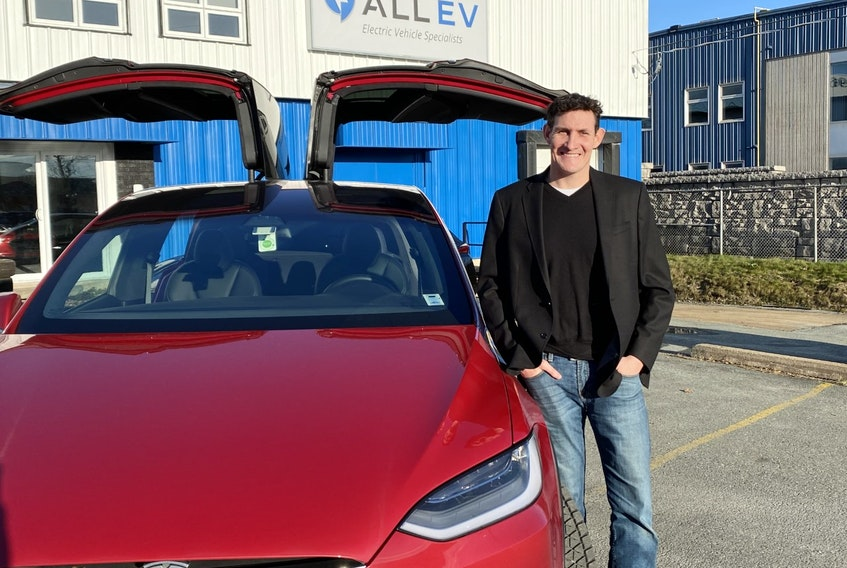 Jeff Farwell, chief executive officer of the All EV Canada, expects electric vehicle sales to take off faster in Nova Scotia than craft beer.