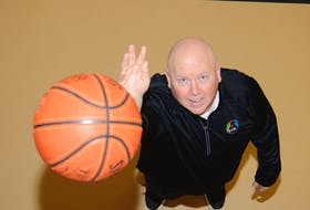 Tim Kendrick looks forward to when the ball is tossed up for the first tipoff of the Eastern Canadian Basketball League.