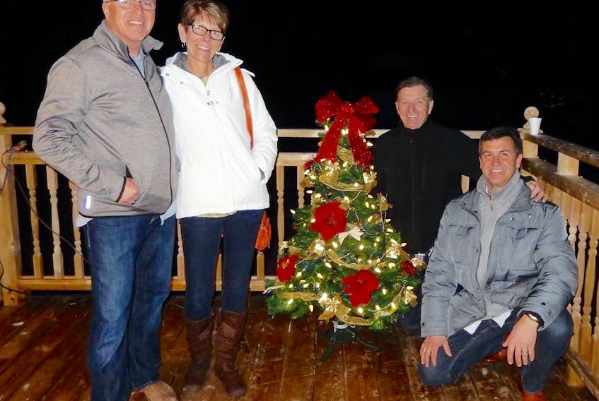 Wade Murray, left, Darlene Bradley, Allan Betts and Clive Currie will perform Dec.17 in New Dominion. SUBMITTED PHOTO