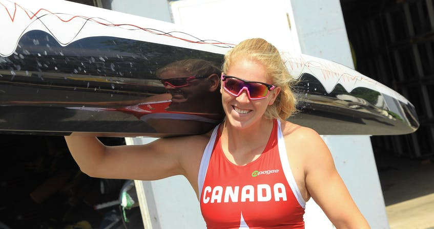 Canadian canoe star Laurence Vincent Lapointe, shown prior to a training session on Lake Banook in a 2018 photo, will get a chance to go for Olympic gold this summer after the International Canoe Federation cleared her of a drug violation.  TIM KROCHAK /THE CHRONICLE HERALD - Tim Krochak