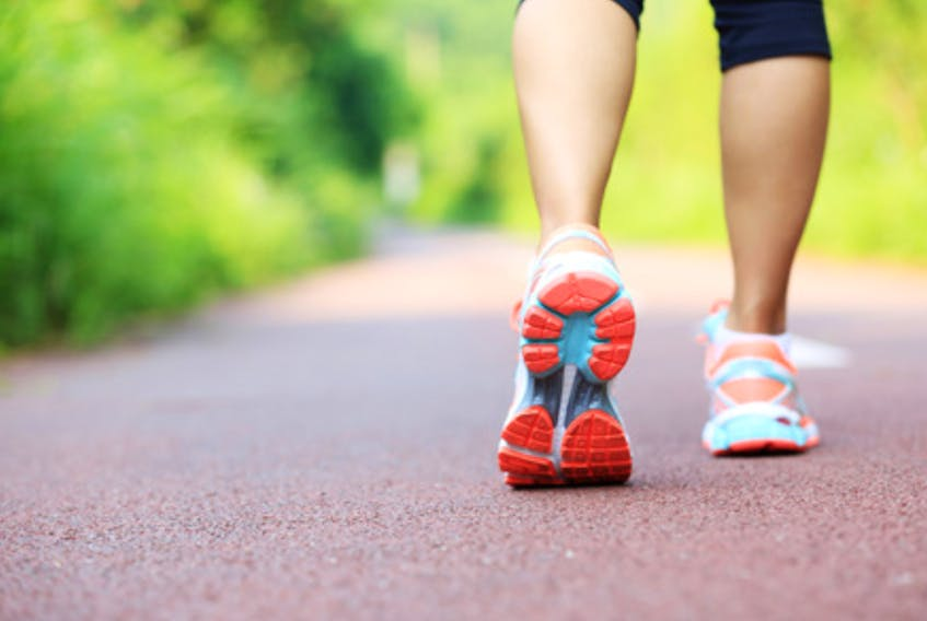 The Step into Spring walking program begins late this month. It encourages Colchester County residents to get involved for eight weeks and walk 10,000 steps a day. 123RF