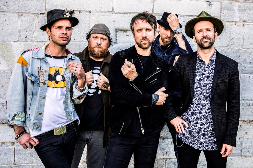 The Trews will be among the headliners for the Rock the Boat Music Festival this summer. - Contributed