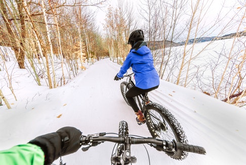 With their wider tires, fat bikes are rapidly growing in popularity, especially due to the fact that they're ideal for winter riding. 123RF
