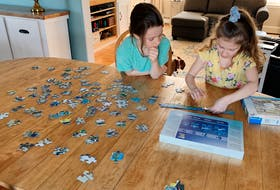 Heather Laura Clarke knows many tricks for keeping her kids busy while she's working from home. Heather Laura Clarke photo