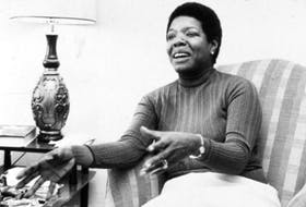 A photo from the Maya Angelou documentary screening in Halifax this Saturday