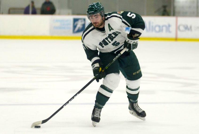 Casey Babineau was a reliable defenceman during his time with the UPEI Panthers, missing just one game in four seasons.